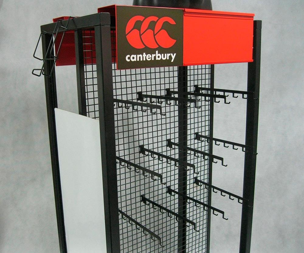 Canterbury sport base layer display 2